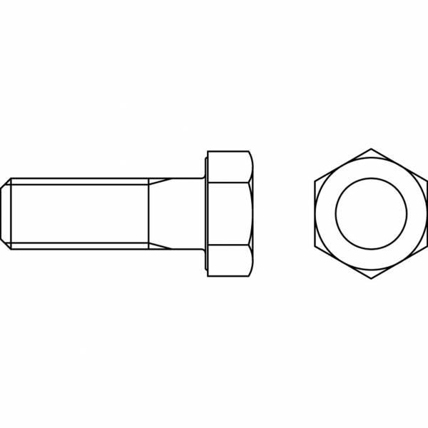 Schraube DIN 931/12.9 - M 16 x 65