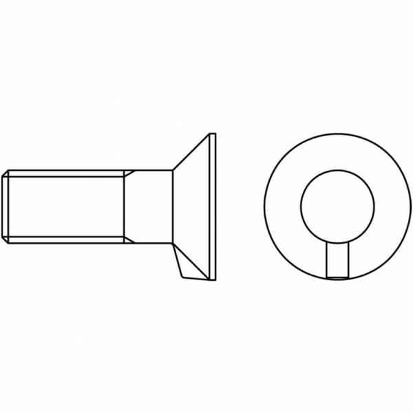 Schraube mit Mutter DIN 604/8.8 - M 20 x 50