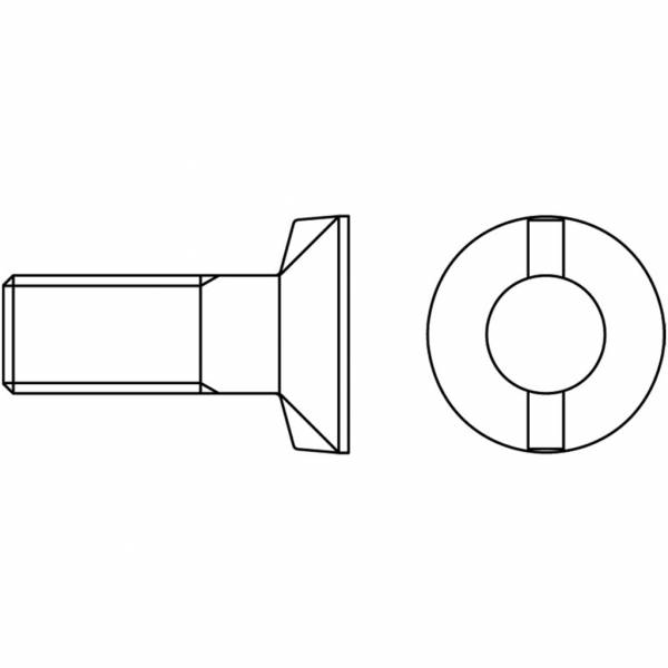 Schraube mit Mutter DIN 11014/12.9 - M 12 x 30