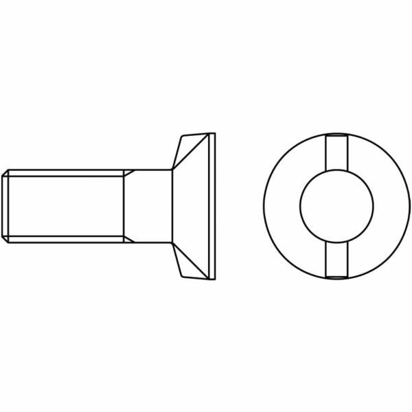 Schraube mit Mutter DIN 11014/12.9 - M 12 x 35